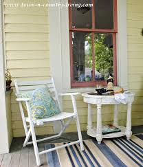 farmhouse porches how i turned my farmhouse porch into a mini retreat town
