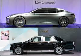 toyota century 2017 tokyo motor show stars lexus ls and toyota century torque