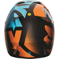 helmet motocross fox racing 2016 v3 shiv helmet aqua available at motocross giant