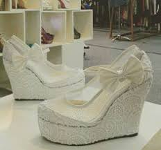 Wedding Shoes Indonesia Wedges Gold Handmade Made In Indonesia Cp 62 8151855256