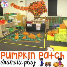 pumpkin patch dramatic play dramatic play kindergarten