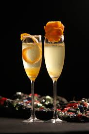french 75 garnish sparkling wine