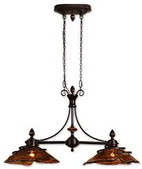 Uttermost Bathroom Lighting Uttermost 21225 Vitalia 2 Light Kitchen Island Amazon Com