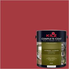 kilz complete coat interior exterior paint u0026 primer in one lh150