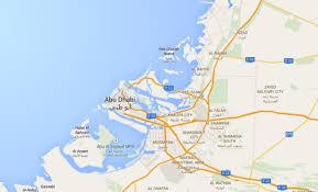 map of abu dabi the geographical coordinates of abu dhabi uae