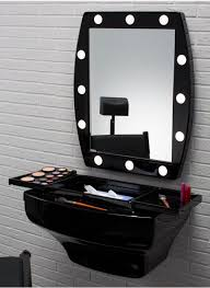 Portable Hair And Makeup Stations Make Up Corners With Lights And Mirror Cantoni Branded