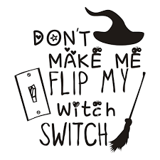 online shop funny don u0027t make me fli my witch switch halloween