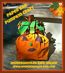 fall crafts homeschooled kids online