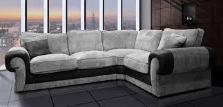 grey fabric corner sofa fabric corner sofa 2a1 grey black