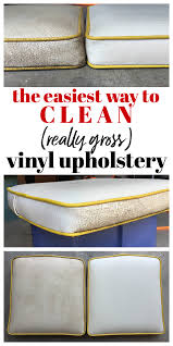 Upholstery Shampoo For Mattress How To Clean Vinyl Upholstery
