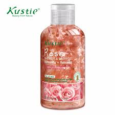 popular fragrance body wash buy cheap fragrance body wash lots kustie real floral petals gental repair ability soft and silky body wash shower gels 100ml