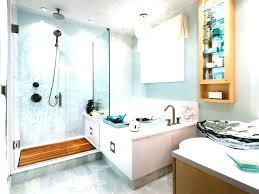 rustic beach bathroom decor brown granite tiled wall panel