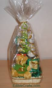 gift basket wrapping christmas gift basket ideas from ediblecraftsonline