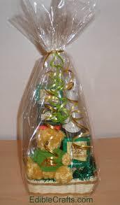 cello wrap for gift baskets christmas gift basket ideas from ediblecraftsonline