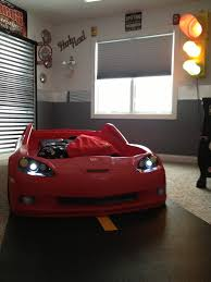 Best Deans Corvette Car Room Images On Pinterest Bedroom - Boys car bedroom ideas