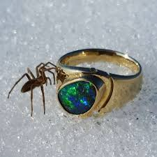 matrix opal ring koroit opal company unique gemstones from australia