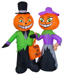 Lighted Halloween Costumes by Halloween Lighted Outdoor Blow Up Decor Traditions