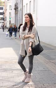 womens ugg selene mini boot casual featuring ugg selene booties and oversized cardigan