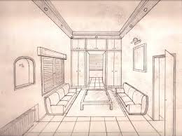 marvelous interior architecture sketches picture of family room