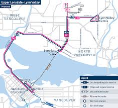 Vancouver Skytrain Map North Shore Packages