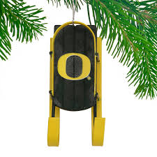 oregon ducks sled ornament 7 99 sports fitness