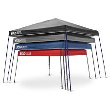 Steel Canopy Frame by Quik Shade Solo Steel 64 Compact 10 X 10 Canopy Blue Top With