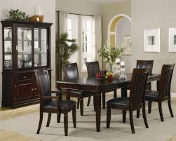 dining room hutch ideas rectangular dining table brown chair