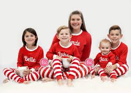 family pajamas personalized matching family