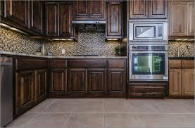 kitchens with stone backsplash appliances ceramic tile flooringg laminate wooden kitchen