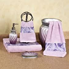 Black And Purple Bathroom Sets Plum Colored Bathroom Accessories