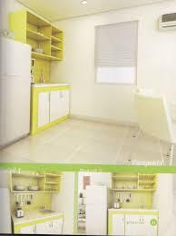 Kitchen Set Minimalis Untuk Dapur Kecil Desain Kitchen Set Warna Kuning Minimalis 4 93 Juta Untuk Dapur