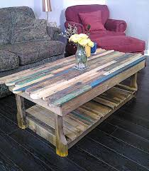 Pallet Coffee Tables Diy Pallet Coffee Table With Decorative Edging Pallet Furniture Diy