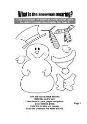 english teaching worksheets the snowman
