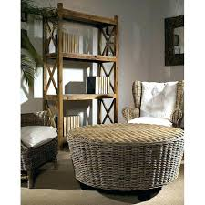 Seagrass Storage Ottoman Marvelous Rattan Storage Ottoman Black Wicker Ottoman Black Wicker