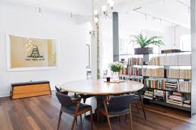 Sarah Richardson Dining Rooms Inside Nadine Abramcyk Of Tenoverten U0027s Tribeca Apartment Rip U0026 Tan