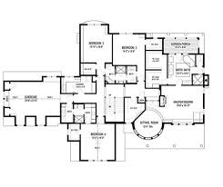 traditional style house plan 4 beds 4 baths 5342 sq ft plan 56