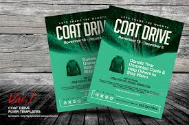 drive brochure templates coat drive flyer templates by kinzi21 graphicriver