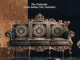 Versace Armchair Finlandia Baroque Versace Style Fabric Sofas
