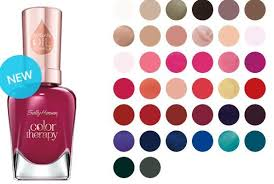 sneak peek review sally hansen color therapy polish with argan oil