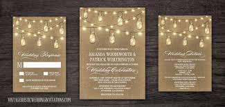 jar wedding invitations jar wedding invitations vintage rustic wedding invitations