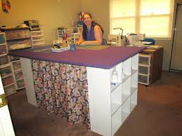 diy folding sewing table best crafting cricut mania new spacious craft table picture for diy