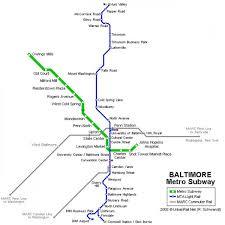 Mta Map Baltimore Mta Map Mta Map Baltimore Maryland Usa