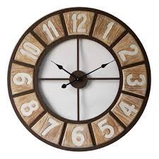 Grosse Pendule Murale by Horloges à Des Tarifs Imbattables Dya Shopping Fr