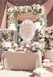 Pink And Gold Dessert Table by Best 25 Pink Dessert Tables Ideas On Pinterest Pink Round