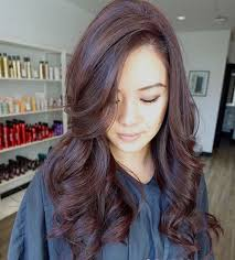 light mahogany brown hair color with what hairstyle red hair color inspiration