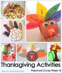thanksgiving themed preschool activities preschool co op week 10
