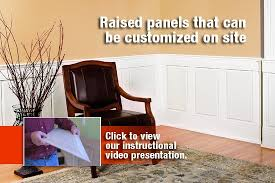 Wainscoting Router Bits Raised Panel Wainscoting U0026 Wall Paneling I Elite Trimworks