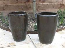 Glazed Ceramic Pots Large Ceramic Pots For Outdoors High Fired Colored Ceramic