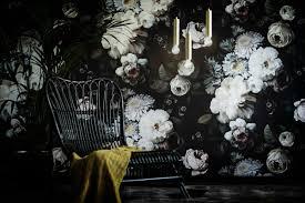 the new feminine girly interiors go dark u0026 moody