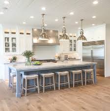 how big is a kitchen island best 25 kitchens with islands ideas on kitchen ideas